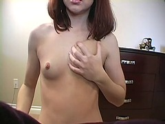 Sexy brunette tries di... from WinPorn