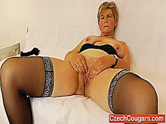 Orgastic wife playing ...