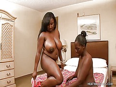 Ebony babe with a big ... from WinPorn