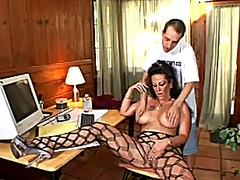 Xhamster - Long nailed secretary