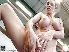 Blonde tanya tate fill...