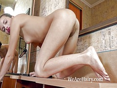 Hairy girl angelica l ...