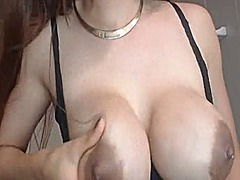 Big lactating tits, da...