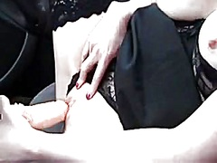dilettante masturbates... from Private Home Clips