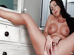 Nina leigh with huge m...