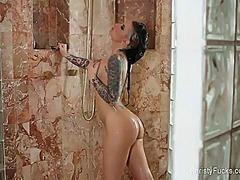 Christy mack plays in ... from PornerBros