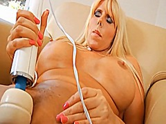 Busty mature solo 003