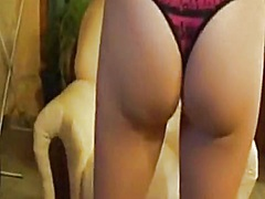 Sexy babe strips and d... from Private Home Clips