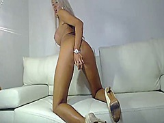 Beautiful blonde toys ... from Xhamster