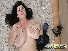 Thick milf with big tits from DrTuber