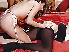 Mistress and maid in s...