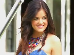 Lucy hale jerk off cha... from Xhamster