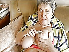 Granny with big saggin... from Xhamster