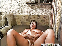Fat mother masturbating from IcePorn