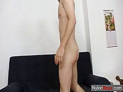 Thin twink strokes his... from Ah-Me