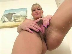 Beauty blonde mature, ...