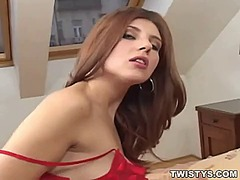 Sexy babe stripping an... from Ah-Me