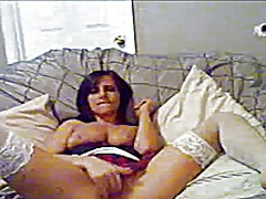 Coed orgasms in stockings