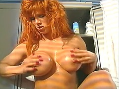 Classic busty redhead ... from Tube8