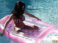 Floating in the Pool from Vporn