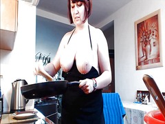 Horny busty redhead in... from Xhamster