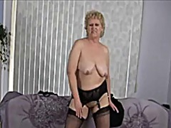 Xhamster - Granny does striptease