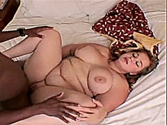 Young bbw enjoys big b...
