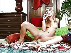 Blonde hailey holiday ...