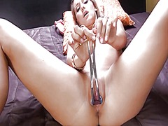 Deep gyno toys in her ... from IcePorn