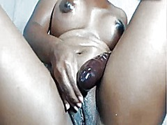 Latina uses big toy an...