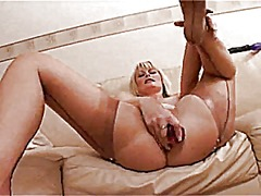 Xhamster - British milf in stocki...