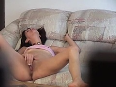 tiny titted hotty mast... from Private Home Clips