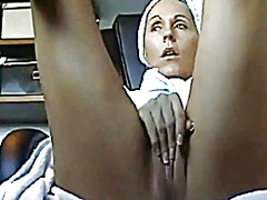 Hidden cam under desk ... from Xhamster