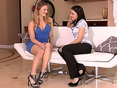 Lesbian Job Interview from Vporn