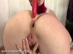 Anal toying for big ti... from Ah-Me