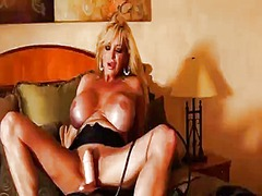 Rachel aziani rides th... from Tube8