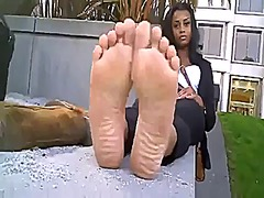Smelly ebony uggs from Xhamster