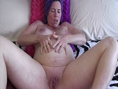 Pregnant shower from Xhamster