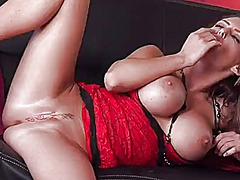 Jenna presley with mas...