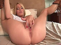 Krissy lynn plays with...