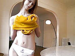 Beata screams as she f...