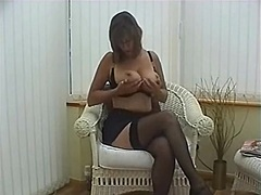 Private Home Clips - Aged secretary fingers