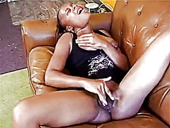 Black girl masturbating