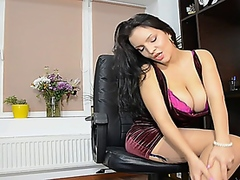 Lana ivans At the Office