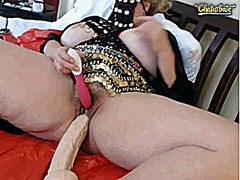 Hot mature with huge d...