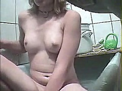Masturbating in baths from Voyeur Hit