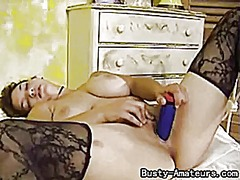 Busty amateur serena s... from Tube8