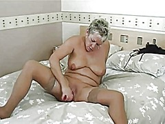 Short hairy blonde mat... from Xhamster