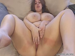 Busty bbw sarah rae wi... from Tube8