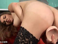 Huge dildo insertion f... from Ah-Me
